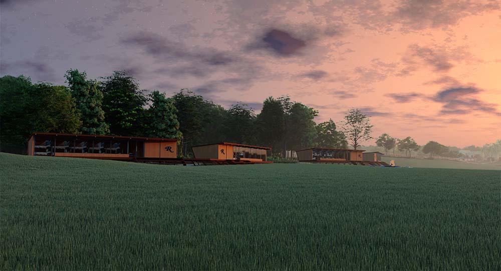 Circadian Rhythm Cabin Sunset
