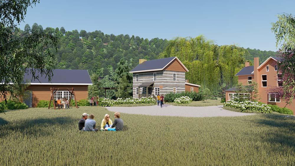 1807 Log Cabin Restoration