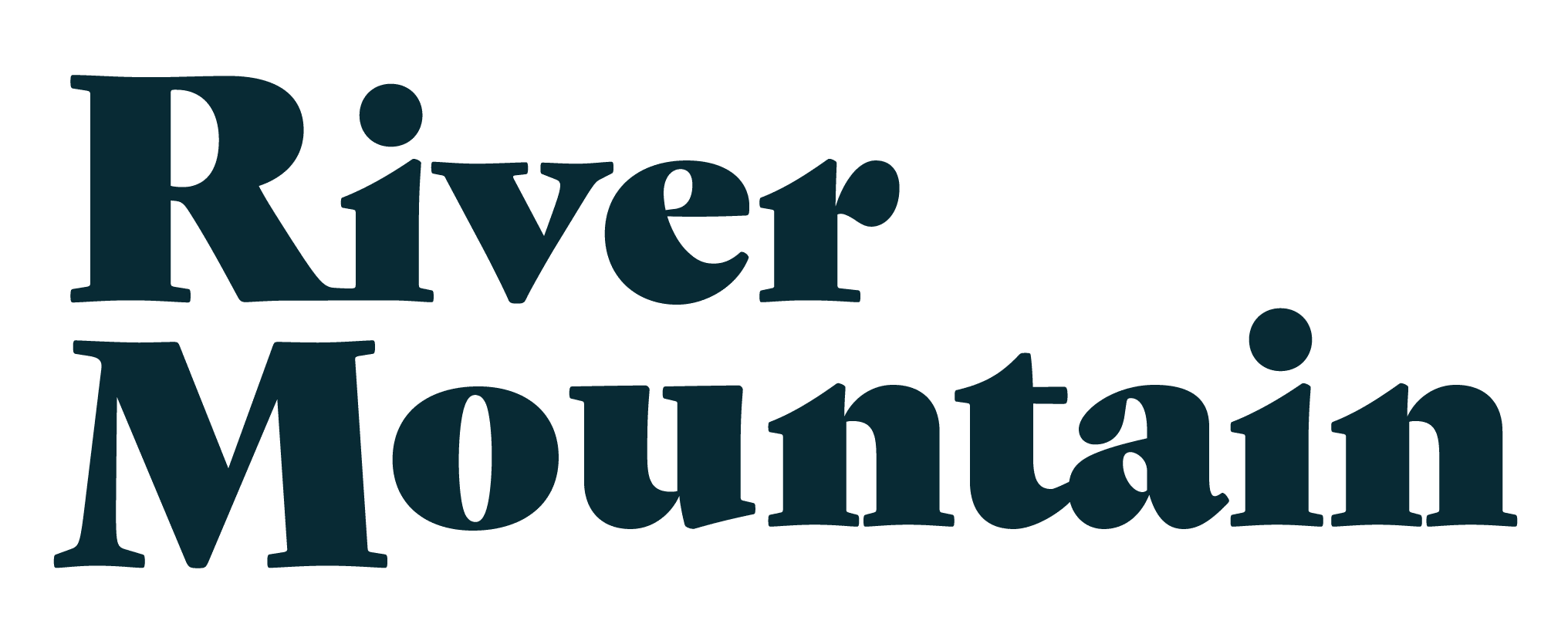 River Mountain Retreat - Logo Midnight