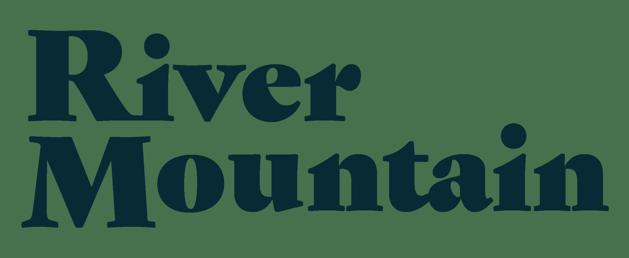 River Mountain Retreat - Logo Midnight