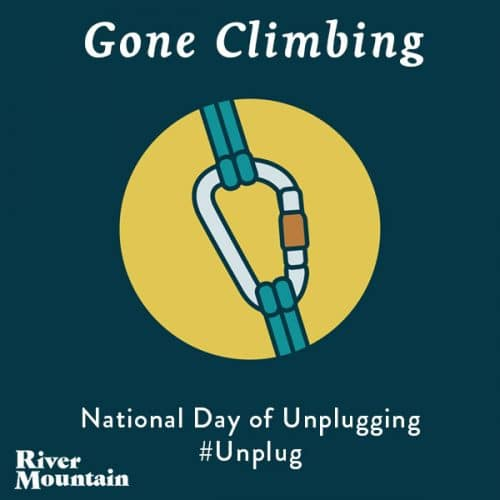 National Day of Unplugging Climbing
