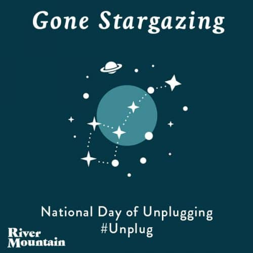 National Day of Unplugging Stargazing