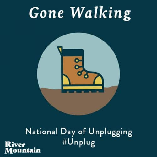 National Day of Unplugging Walk