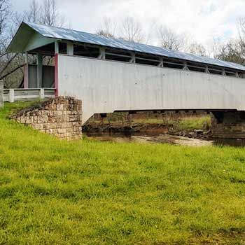 Bedford county pennsylvania covered bridge tours scenic drive near pittsburgh