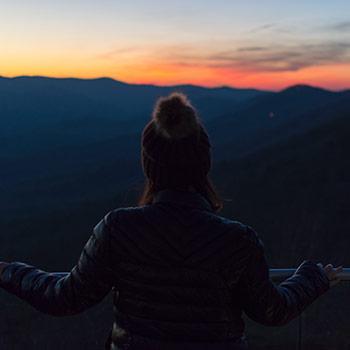 Scenic Overlook nature vacation getaway Pennsylvania