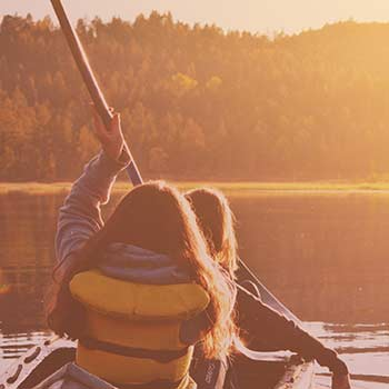 Canoe Kayak Paddle SUP River Mountain Pennsylvania vacation trip