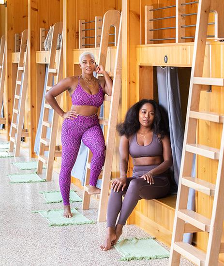Tierra + Michelle Urban X Sol Yoga Retreat River Mountain DC Pennsylvania