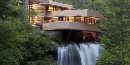 Fallingwater accommodations River Mountain glamping cabins and getaway