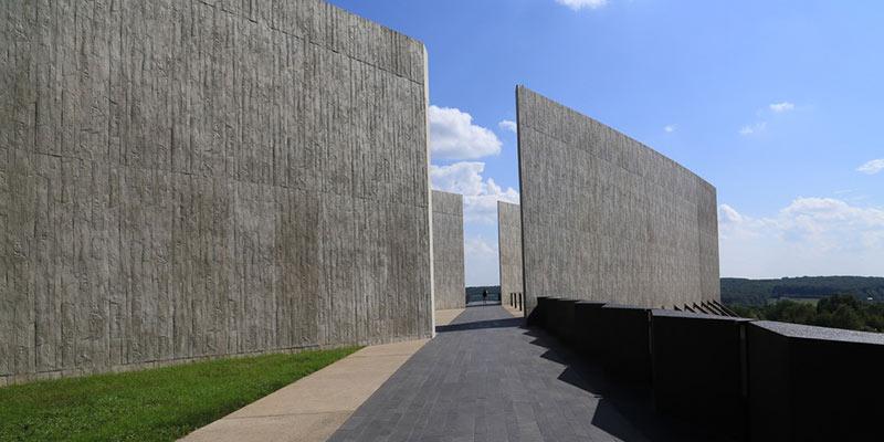 Flight 93 National Memorial near River Mountain cabins